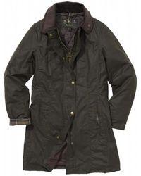 Barbour Belsay Wax Jacket - Green