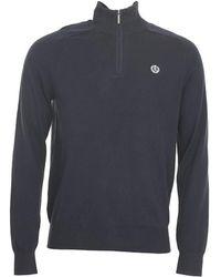 Henri Lloyd - Miller Regular Half-zip Knit Sweater - Lyst