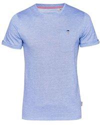 Ted Baker - Vue Jacquard Crew Neck T-shirt - Lyst