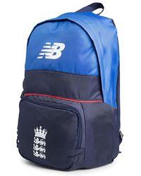 Lyst - New Balance Black Backpack in Black for Men 463039856b66e