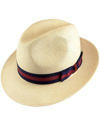 Olney - Wide Brim Panama - Lyst