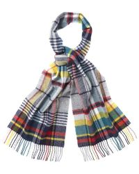 Barbour - Bright Country Plaid Scarf - Lyst