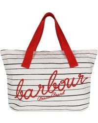 Barbour Littlehaven Tote Bag - Orange