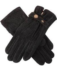 Dents Laura Strap Detail Suede Gloves