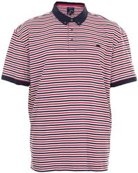 Raging Bull - Striped Polo Shirt - Lyst