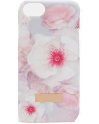 Ted Baker - Chelsea Grey Iphone 7 Plus Case - Lyst