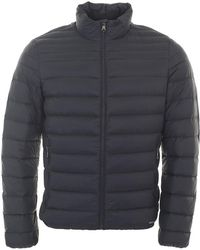 Geox - Narrow Quilted Coat - Lyst