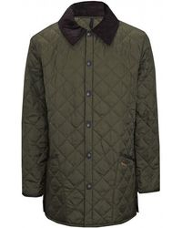 Barbour Liddesdale Quilted Jacket - Green