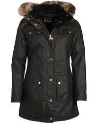 Barbour Slipstream Waxed Cotton Jacket - Black