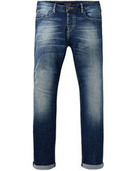 Scotch & Soda Vernon Classic Fit Jeans - Blue