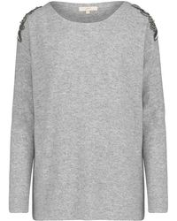 JEFF - Crista Embroidered Knit - Lyst