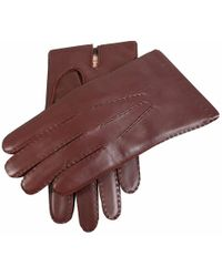 Dents Leather Gloves With Cashmere Lining - Multicolor