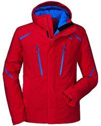 Schoffel Bad Gastein Ski Jacket - Red