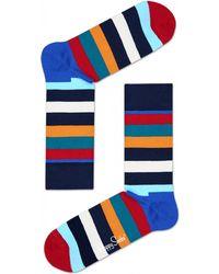 Happy Socks Stripe Socks - Blue