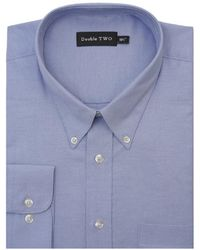 Double Two - Standard Sleeve Oxford Shirt - Lyst
