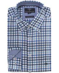 Fynch-Hatton - Multi Check Shirt - Lyst