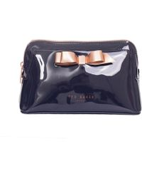 Ted Baker - Bow Detail Wash Bag - Lyst