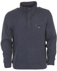 Fynch-Hatton - Melange 1/4 Zip Sweater - Lyst