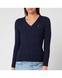Polo Ralph Lauren Women's Kimberly Jumper - Blue