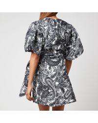 Faithfull The Brand Godiva Wrap Dress - Black