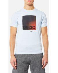 KENZO | Men's Classic Degrade Logo Tshirt | Lyst