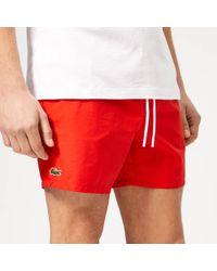 Lacoste - Classic Swim Shorts - Lyst