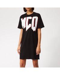McQ - Women's Slouchy Tshirt Dress - Lyst