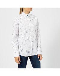 PS by Paul Smith - Women's Pauls Sketch Shirt - Lyst