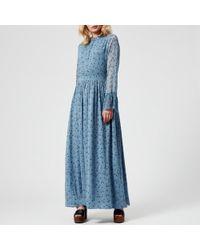 Gestuz - Women's Jeanett Long Dress - Lyst