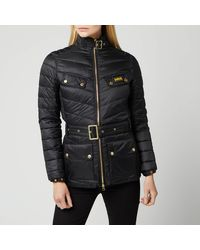 Barbour International Gleann Quilted Jacket - Black