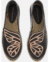 Sophia Webster Butterfly Espadrilles - Black