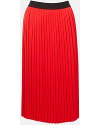 HUGO Ralissy 1 Midi Skirt - Red