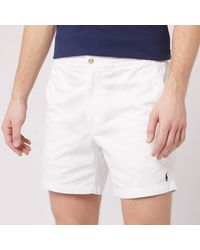 Polo Ralph Lauren Classic Fit Prepster Shorts - White