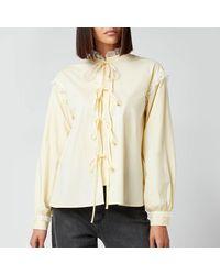 Résumé Edith Shirt - Yellow