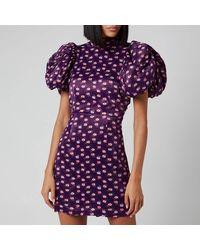 ROTATE BIRGER CHRISTENSEN Dusk Dress - Purple