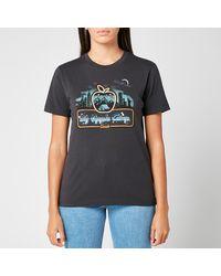 COACH Apple Camp T-shirt - Black