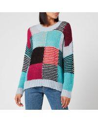 Stine Goya Sana Gingham Sweater - Multicolor