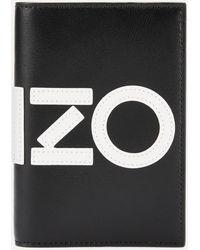 KENZO Passport Holder - Black