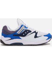 Saucony Grid 9000 Trainers - White