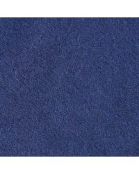 Barbour Plain Lambswool Scarf - Blue