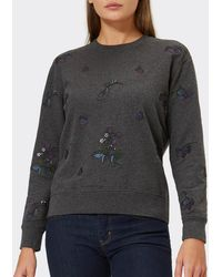 Barbour - Evelyn Embroidered Sweatshirt - Lyst