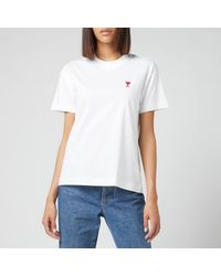 AMI De Coeur T Shirt - White