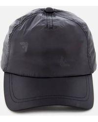 26359c3a09e Emporio Armani Logo Baseball Cap in Gray for Men - Lyst