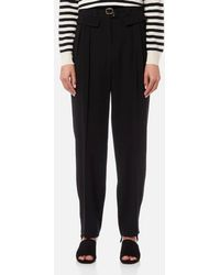 A.P.C. - Women's Isa Trousers - Lyst