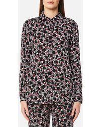 MICHAEL Michael Kors - Women's Hayden Button Down Shirt - Lyst