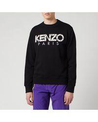 KENZO Classic Paris Sweatshirt - Black