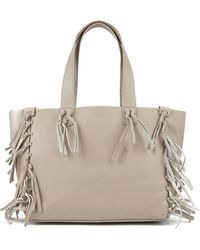 UGG - Women's Lea Leather Fringed Tote Bag - Lyst