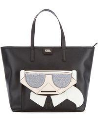Karl Lagerfeld - Women's K/kocktail Karl Shopper Bag - Lyst