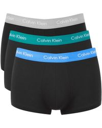 CALVIN KLEIN 205W39NYC - Men's 3 Pack Trunk Boxer Shorts - Lyst