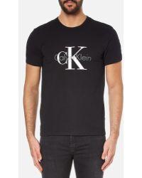 CALVIN KLEIN 205W39NYC - Men's Large Logo Tshirt - Lyst